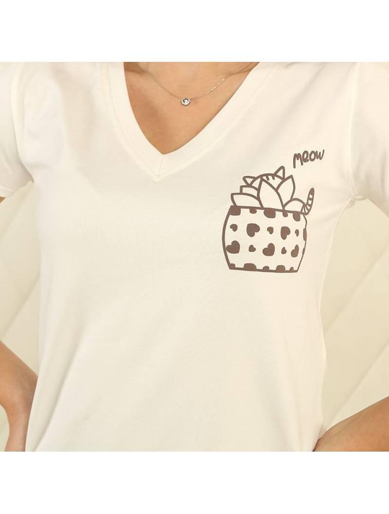 Пижама П-М-83 сердечки