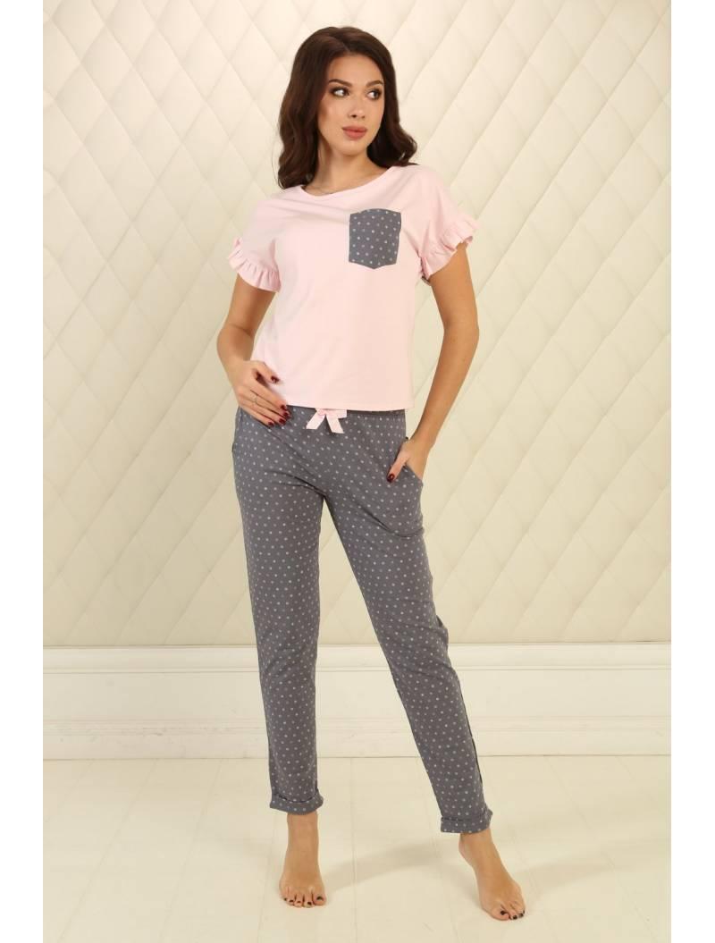 Пижама П-М-76 горошек