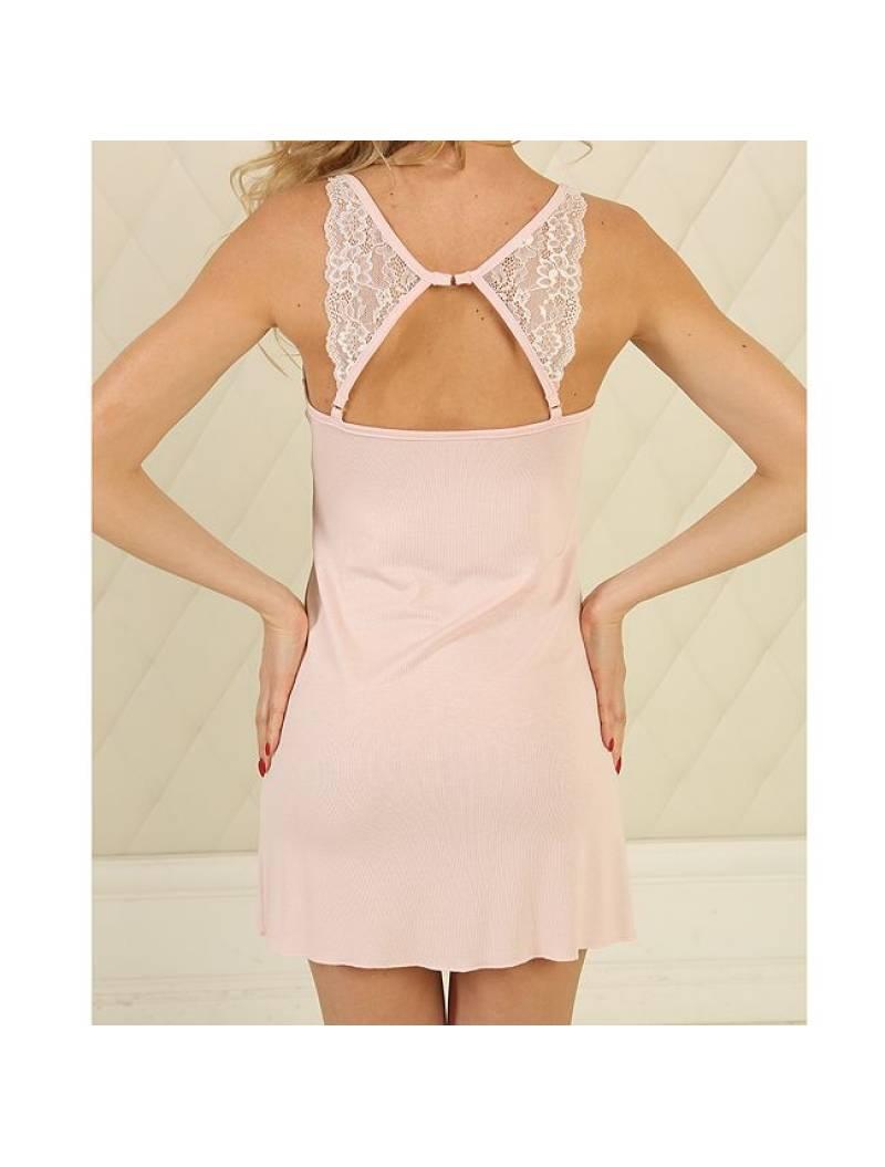 Ночная рубашка НС-М-95 нежно розовый