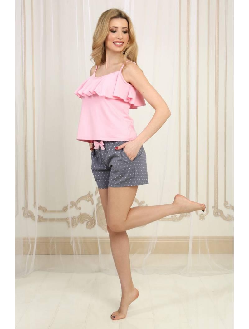 Пижама П-М-94 горошек