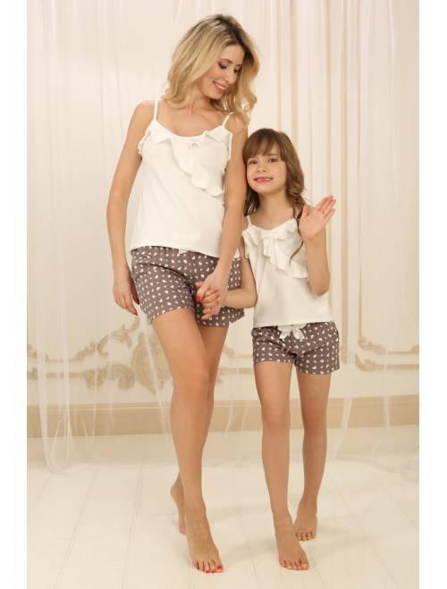 Пижама П-М-73 (сердечки)