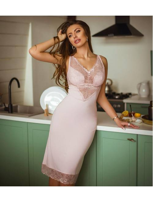 Ночная рубашка НС-М-99 розовая