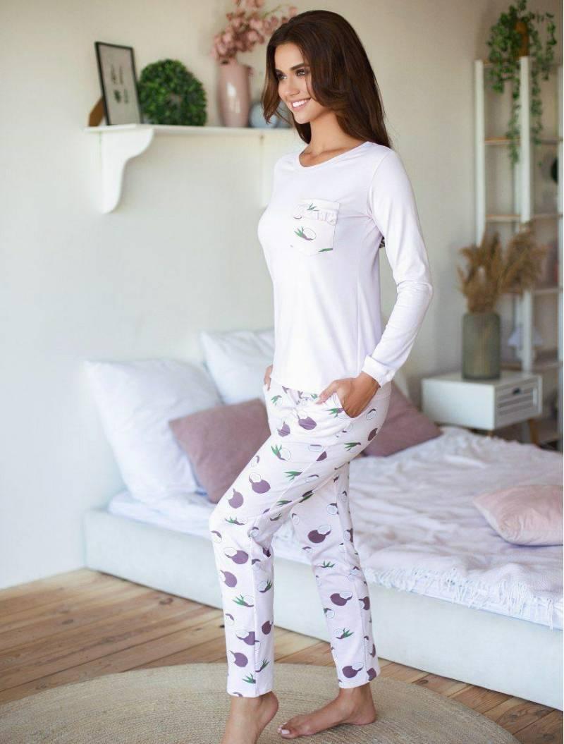 Пижама розовый с кокосами