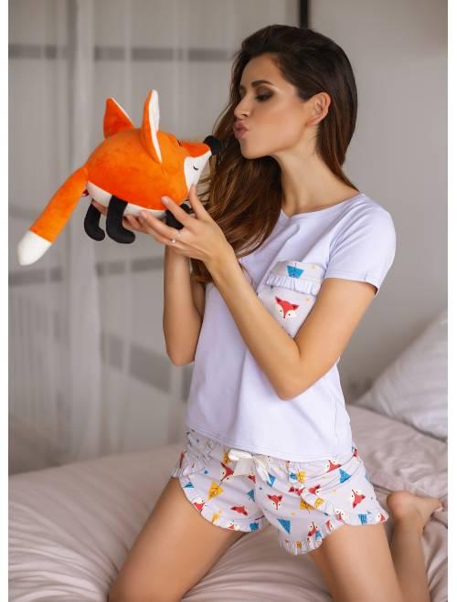 Пижама П-М-100 лисички