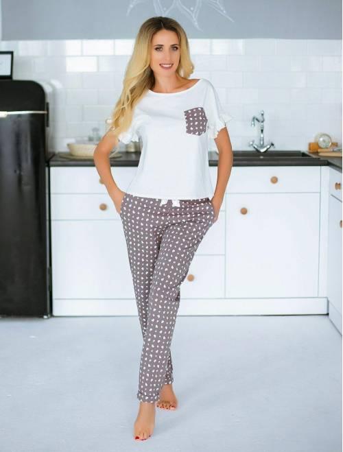 Пижама П-М-76 сердечки