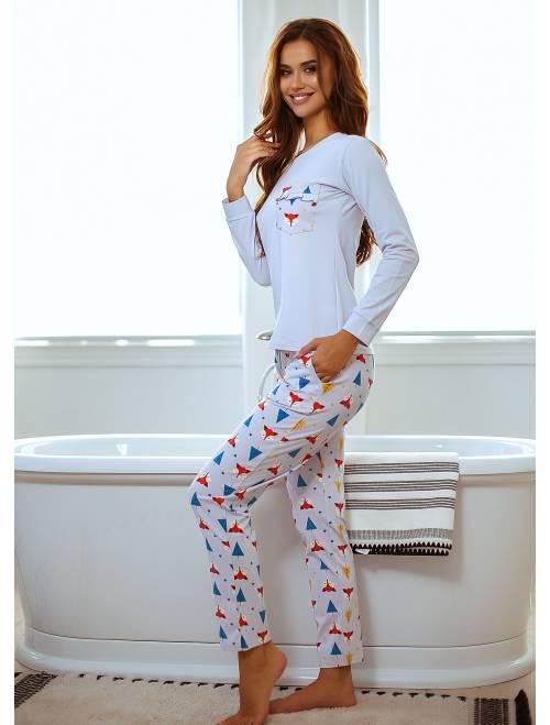 Пижама П-М-102 лисички