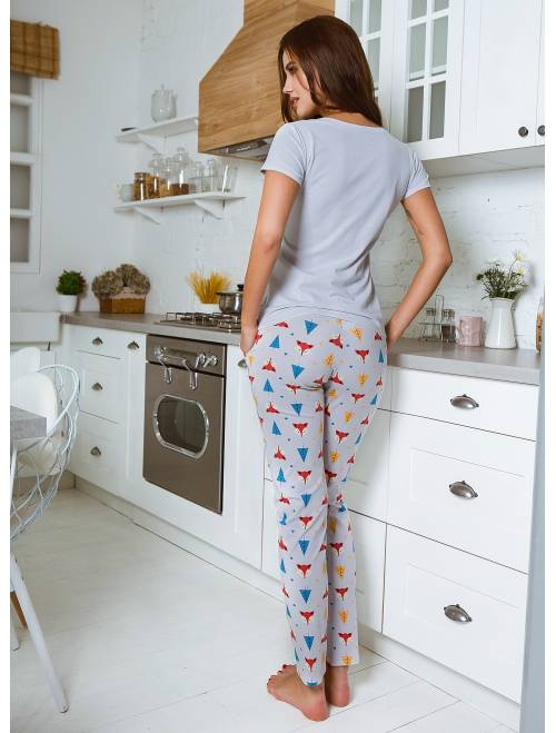 Пижама П-М-101 лисички