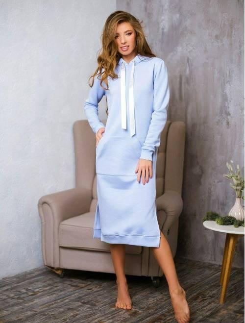 Платье Krasslook Эрика голубой