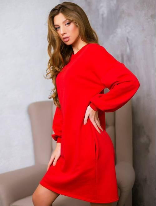 Платье Krasslook Эмели красный