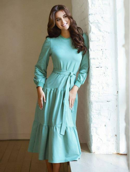 Платье Krasslook Камилла мята