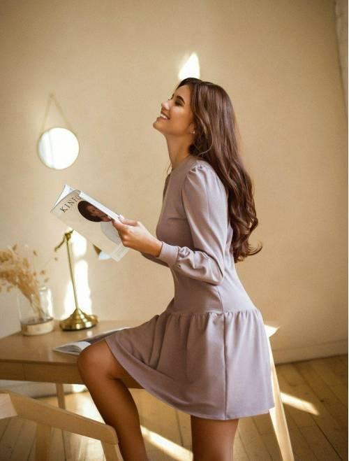 Платье Krasslook Кира капучино