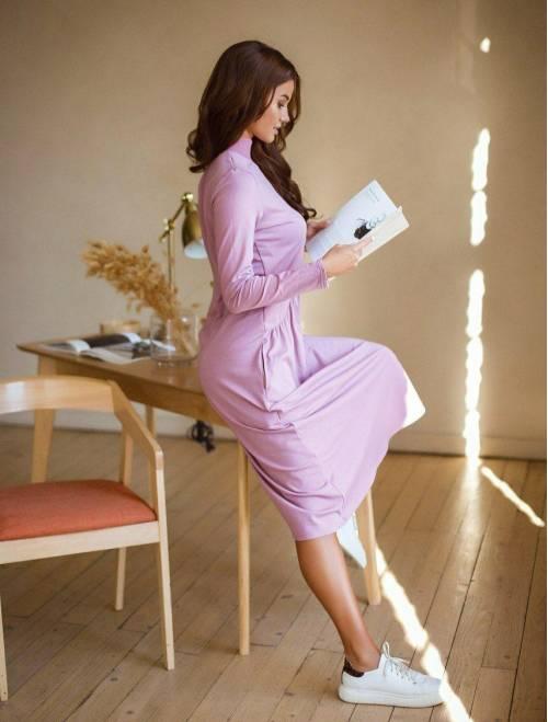 Платье Krasslook Наоми сиренев...