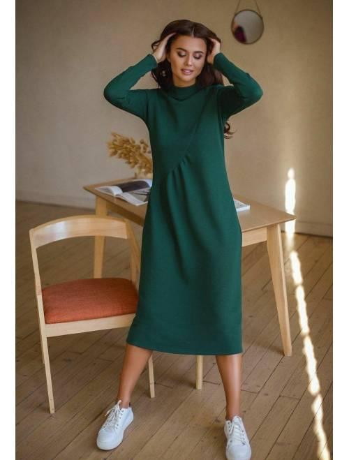 Платье Krasslook Наоми зеленый